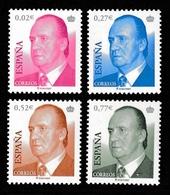 SPAIN 2004 Definitives/King Juan Carlos I: Set Of 4 Stamps UM/MNH - 1931-Oggi: 2. Rep. - ... Juan Carlos I