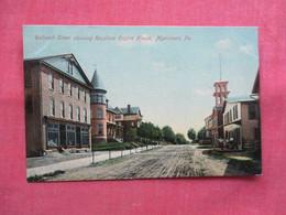 Railroad Street Myerstown  - Pennsylvania      Ref 3494 - United States