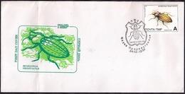 Moldavia - 1999 - FDC - Transnistria - Insectes - Sonstige