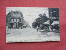 Brighton Ave  Rochester  - Pennsylvania      Ref 3494 - United States
