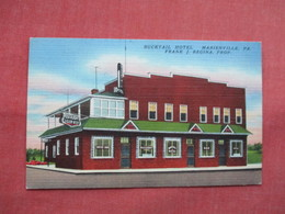 Bucktail Hotel  Marienville Pennsylvania      Ref 3494 - United States