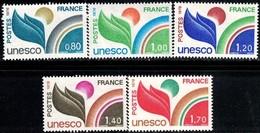 UNESCO, France Stamp SC#2016-2020 MNH Set - France