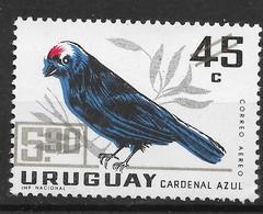 Uruguay 1967 MiNr. 1090  Birds Diademed Tanager Vogel 1v MNH** 0,50 € - Altri