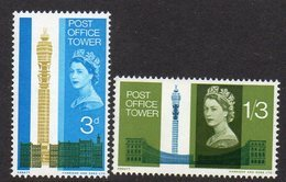 GREAT BRITAIN, 1965 POST OFFICE TOWER  2 MNH - Unused Stamps