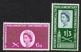 GREAT BRITAIN, 1961 PARLIAMENTARY CONFERENCE 2 MNH - Unused Stamps