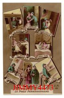 CPA - LE POILU PERMISSIONNAIRE - Multi Vues En 1916 - HUMOUR MILITAIRE -  Edit. E. M. N° 183 - Humour