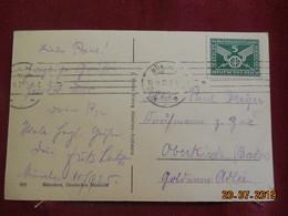 Carte De 1925 De Munich à Destination De Oberkirch - Deutschland