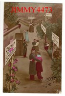 CPA - CHEMIN DU BONHEUR Bien Animé En 1916 - Edit. REX - N° 583 - Humour