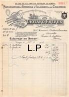 16-1308    1912 MANUFACTURE D APPAREILS D ECLAIRAGE ET DE CHAUFFAGE LIOTARD FRERES A PARIS - M. QUERRIOUX A LUSSAC LES C - France