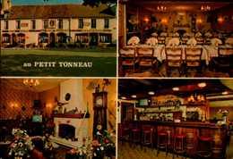"37-LIGUEIL....RESTAURANT HOTEL BAR ""AU PETIT TONNEAU""...4 VUES...CPM - Francia"