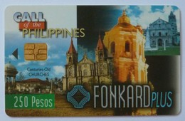 PHILIPPINES - Chip - Call Of The Philippines - Churches - Used - Filippine