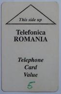 ROMANIA - 1st Field Test - ROM-T-2 - 5 Units - 1000ex - Used - RR - Romania