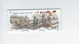 Centenaire De La Bataille De Verdun N°5063 Oblitéré Année 2016 - Gebraucht
