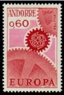 TIMBRE ANDORRE.FR - 1967 - NR 180 - NEUF - Nuevos