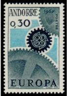TIMBRE ANDORRE.FR - 1967 - NR 179 - NEUF - Nuevos