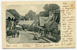 CPA - Carte Postale - Royaume-Uni - Shanklin - Old Village - I. W. - 1904 (B9453) - Angleterre