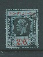 Fiji 1922 - 1937 KGV 2/6 FU , Neat Cds - Fiji (...-1970)