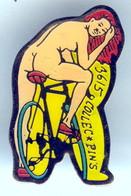 Pin's Limité 500 Ex PIN UP SEXY Cyclisme Vélo © Collec Pin's - Pin-ups