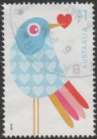AUSTRALIA - USED 2016 $1.00 With Love - Bird - 2010-... Elizabeth II