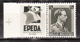 PU100*  Leopold III Col Ouvert - Epeda - MH* - LOOK!!!! - Pubblicitari