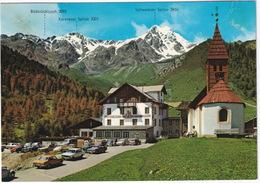 Schnals, Meran: OPEL REKORD D, BMW 520, FORD 15M P6, VW 1500 VARIANT, 411, 1200 - Sporthotel 'Kurzras' - (Italia) - Toerisme
