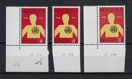 N°1667 (drukdatum) MNH ** POSTFRIS ZONDER SCHARNIER SUPERBE - Coins Datés
