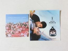 2 Cartes Publicitaires - Cartas Perfumadas