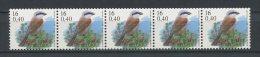 BELGIQUE 2000  N° 2933 ** Roulette Avec N° Neufs MNH Superbes C 15 € Faune Oiseaux Birds Pie Fauna Animaux - Bélgica