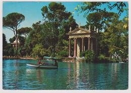 ROMA - Villa Borghese - Il Laghetto - Le Petit Lac - 1968 - Parks & Gardens