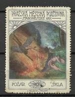 TSCHECHOSLOWAKEI Czechoslovakia Vignette Reklamemarke (*) - Tschechoslowakei/CSSR