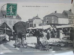 ROMILLY-sur-SEINE  -  Le Marché - Romilly-sur-Seine