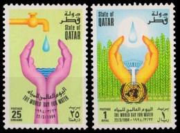 Qatar** 1994, Save Water, World Water Day (2v.) - Qatar