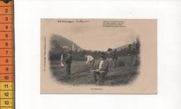 15 EN AUVERGNE (est Inscrit AURILLAC Environs) LES FAUCHEURS  COLLECTION GELY  (strophe En Patois Vieux Métiers) - Aurillac
