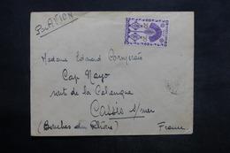 MADAGASCAR - Enveloppe Pour La France En 1946 , Affranchissement Plaisant - L 35865 - Madagascar (1889-1960)
