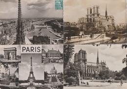 19 / 7  / 51. - LOT DE  11 C P M  DE  NOTRE  DAME  DE  PARIS. ( 75 )Toutes Scanées - Eglises