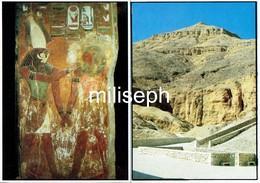 11 C P - EGYPTE - La Vallée Des Rois - EGYPT - Valley Of The Kings -  (4683) - Egypte