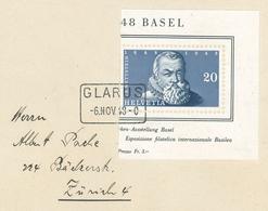 Glarus 1948 Wettstein Theologe - Schweiz