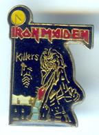 Pin's RARE IRON MAIDEN KILLERS MUSIQUE Heavy Metal Hard Rock - Música