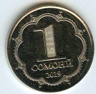 Tadjikistan Tajikistan 1 Somoni 2019 UNC - Tadjikistan