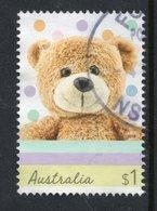 2019 AUSTRALIA TEDDY BEAR VERY FINE POSTALLY USED $1 SHEET Stamp - Oblitérés
