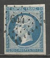 FRANCE - Oblitération Petits Chiffres LP 644 CASTILLON-SUR-DORDOGNE (Gironde) - Marcophilie (Timbres Détachés)