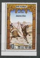 135 Corée (korea) Neuf ** MNH 2142 Jeanne D Arc Non Dentelé (imperforate) - Unclassified