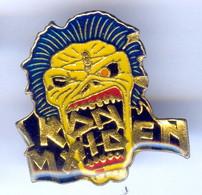 Pin's RARE IRON MAIDEN MUSIQUE Heavy Metal Hard Rock - Música