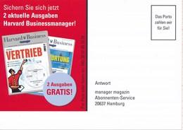 BRD Hamburg Das Porto Zahlen ..... Antwort Manager Magazin Zeitschrift Havard Business - BRD