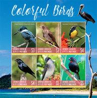 2019-07- GRENADA GRENADINES-   COLORFUL BIRDS   6V    MNH** - Altri