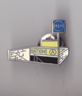 PIN'S THEME TRANSPORT RER  STATION NATION - Transports
