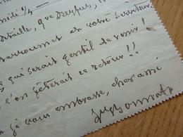 Léon BONNAT (1833-1922) PEINTRE & PORTRAITISTE [ Detaille Henner ...] - Autographe - Autographs