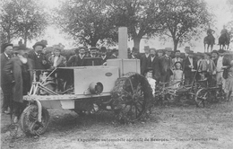 CP EXPOSITION AUTOMOBILE DE BOURGES TRACTEUR A ESSENCE PILTER - Bourges