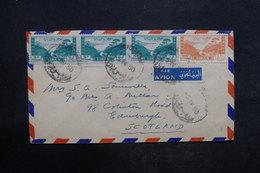 LIBAN - Enveloppe De Tripoli Pour Le Royaume Uni En 1950 , Affranchissement Plaisant - L 35897 - Lebanon