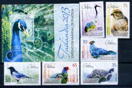 Cuba 2013 / Birds MNH Vögel Aves Oiseaux / Cu14134  41-10 - Pájaros